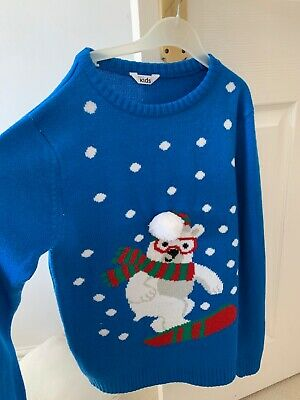 M&Co Christamas Jumper 10-13 years
