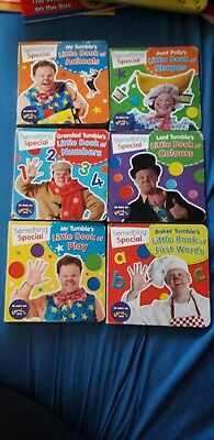 6 Mr Tumble Board Books