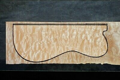 """Awesome Quilted Maple 22 3/8"""" X 7 1/4"""" X 2 1/4"""": Guitar, Luthier, Craft, Scales"""