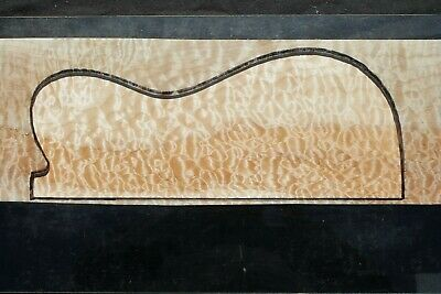 """Awesome Quilted Maple 19 7/8"""" X 7"""" X 2 5/16"""": Guitar, Luthier, Craft, Scales"""