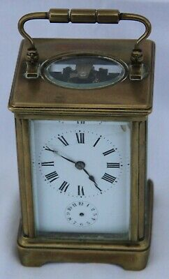 Antique Couaillet Freres carriage clock for spare or repair