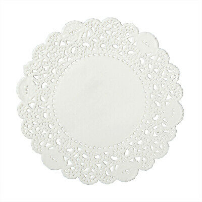 """Royal 4"""" Disposable Paper Lace Doilies, Pack of 1000, LD4"""