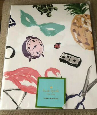 Kate Spade New York Favorite Things Concealed Spiral Notebook NEW NIP