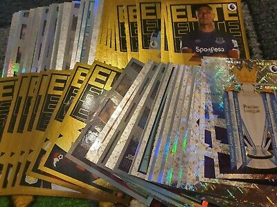 NEW Panini Football 2020 Premier League Stickers -Elite, Foils, Emblems, Legends