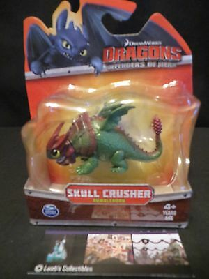 Skullcrusher How to Train Your Dragon 2 Mini Action figure Defenders of Berk NIP