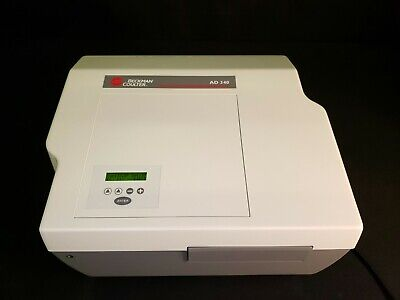 Beckman Coulter AD 340 Microplate Reader Analyzer Absorbance Detector - TESTED