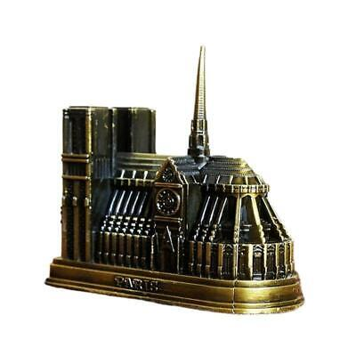 Cathedral Notre Dame DE Paris, France Tourism Souvenir 3D Metal Model Craft.