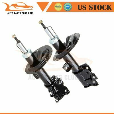 1 Pair Front Shock Absorber Struts /& Springs For 2004-2009 Nissan Quest