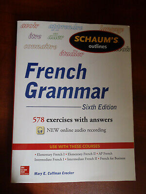 Schaum's outlines of French Grammar (sixth edition) (Crocker)