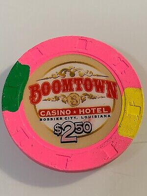 BOOMTOWN CASINO $2.50 Casino Chip BOSSIER CITY LOUISIANA 3.99 Shipping