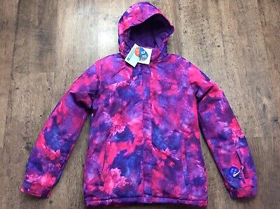 Bnwt Rrp 69.99 Girls Mountain Warehouse Snow Proof Ski Jacket Size 13 Years New