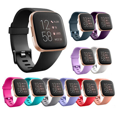 Replacement Silicone Wrist Sports Band Strap Wristband For Fitbit Versa 2/ Lite