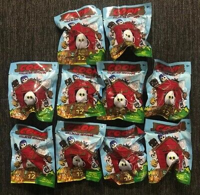 Lot Of 10 COOP Journey #1 Collectors Keychains - Unopened Packages!