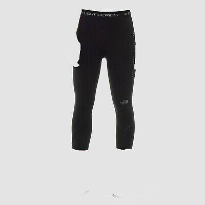 $135 The North Face Women's Black Motivation High Rise Cropped Leggings Size M