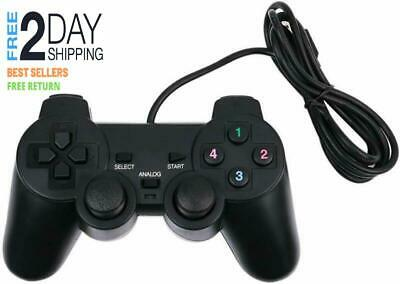 Baigeda Plug and Play Game Controller with USB 2.0 Wired Dual Shock D Input Joyp