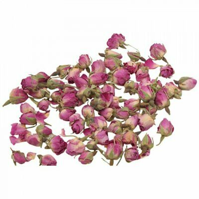 Dried Pink Rose Buds 25g, Confetti, Pot Pourri, Candle Soap Making
