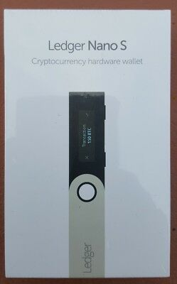 *** Ledger Nano S Hard Wallet *** Factory Sealed