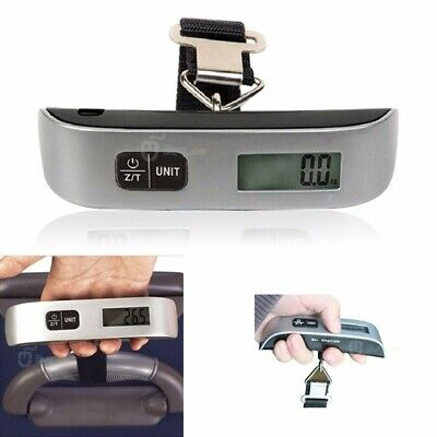 T-shaped 50KG Travel Hand Held Luggage Weighing Digital LCD Scales Suitcase Bag