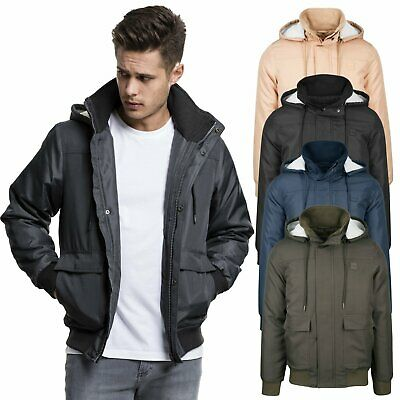 Hooded Heavy Classics Flight Men's Bomber Jacket Urban c3F1ulTKJ