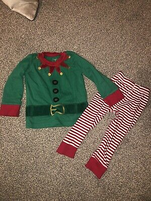 Baby Toddler Christmas Elf Pyjamas From Mothercare Age 18-24 Months