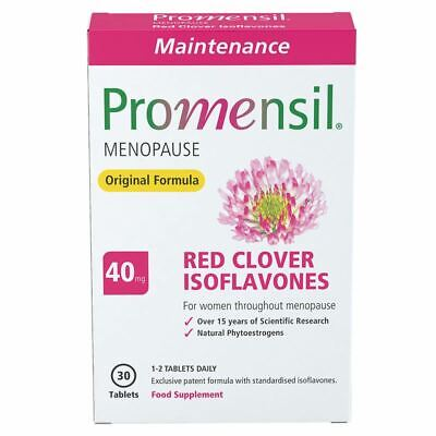 Promensil Menopause 30 Tablets New
