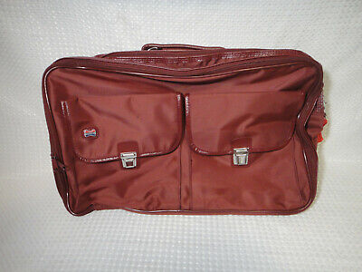 American Tourister Soft Side Luggage Carry On Bag Suitcase Shoulder Strap Maroon