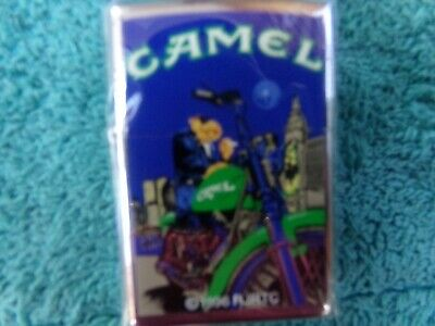 Joe Camel Zippo Vintage And Rare Tower Rider Lighters All New And Unused  1997..