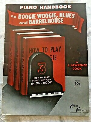 Book and CD NEW 014003458 Barrelhouse and Boogie Piano