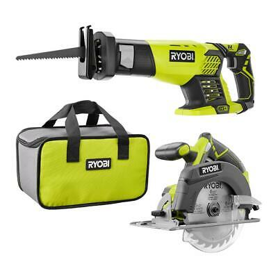 18-Volt ONE Cordless Combo Kit With Reciprocating Saw And 6-1/2 in. Circular Saw