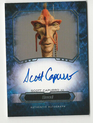 Scott Capurro as Beed 2016 Topps Star Wars Masterwork Autograph Card Auto