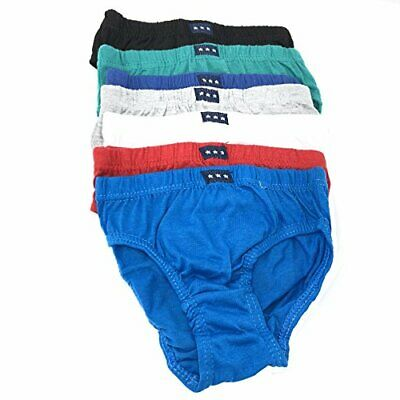 7 Pack Children's Toddlers Pants Knickers Briefs Boys 100% Cotton Age 7-8 Years