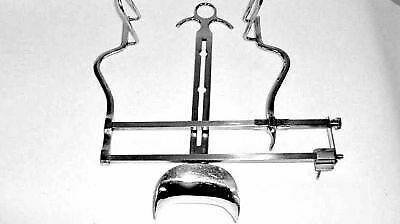 Retractor Self Retaining Abdominal Balfour Adult with Central Blade