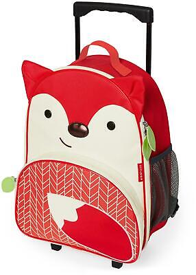 Skip Hop ZOO LUGGAGE KIDS ROLLING SUITCASE - FOX Toddler Children Bag BNIP