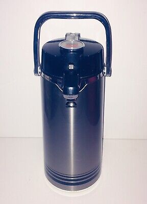 TECHNI-BREW Coffee Dispenser Air Pot Chrome Finish