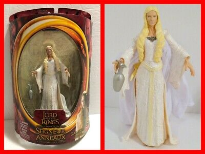 "LORD OF THE RINGS Fellowship of the Ring Red Pack GALADRIEL 7"" Action Figure NEW"