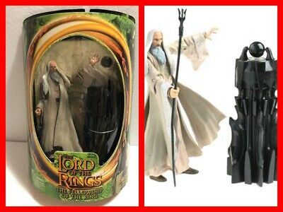 "LORD OF THE RINGS Fellowship of the Ring SARUMAN 7"" Action Figure NEW"