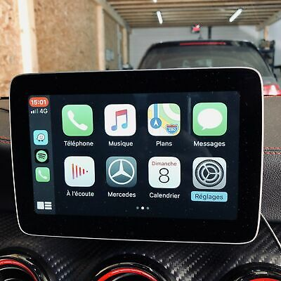 Boitier activation Apple CarPlay / Android Auto pour Mercedes-Benz NTG5