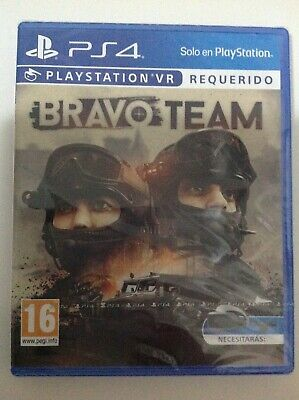 Bravo Team PlayStation VR Required Ps4
