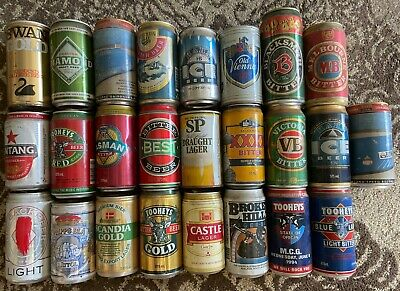 #2 beer cans bulk lot 1970's onwards 25 cans