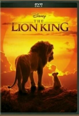 Lion King 2019 (Live Action) DVD Brand New Factory Sealed
