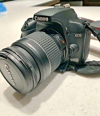 Canon EOS Rebel 1000D DSLR Camera with 3 lenses and accessories- see listing!