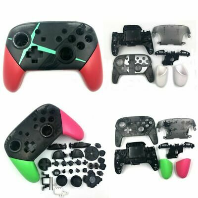 For NS Switch PRO Controller Protective Cover Case Housing Shell Stand Buttons