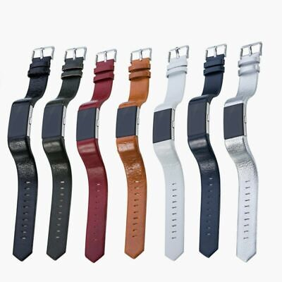 Leather Wristband Band Strap Bracelet For Fitbit Charge 2 HR Tracker Watch #FOC