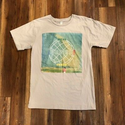 DAWES We're All Gonna Die Album Cover SMALL T-Shirt Folk Rock Band Concert Tour