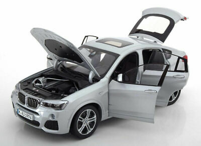 BMW X4 F26 1:18 scale Model Miniature Car Collectable Silver 80432352457 OEM