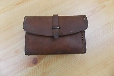 Vintage Sears 1943 WW2 WWII Leather Spare Parts Tool Ammo Pouch
