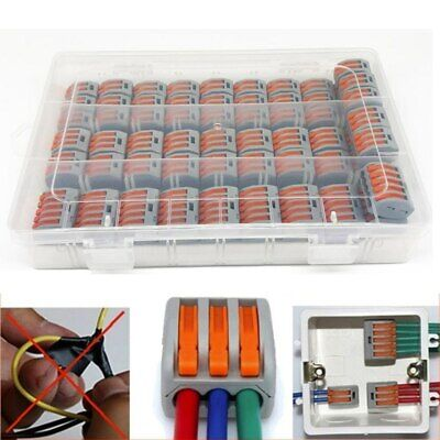 60Pc Hole Electrical Connectors Wire Block Electrical Wire