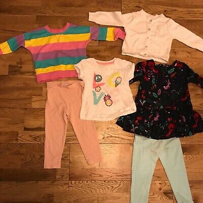 Toddlers Bundle Of Girls Clothes,Next , H&M , Great Condition, Smoke , Pet Free