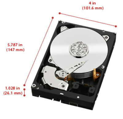 Western Digital WD Black 2TB  3.5' SATA 64MB 7200RPM 6Gb/s 64MB Cache Hard Drive