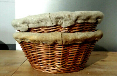 Bannetons / Bread Proving Baskets x10